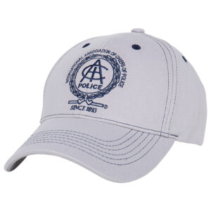 Gray Cap w/ Navy Stitching