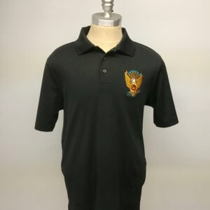 golf shirt - black